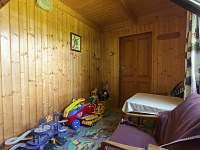 Domeček pro děti a zároveň letní ložnice