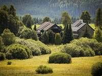 ubytování na Českokrumlovsku Apartmán na horách - Chlum