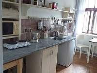 kuchyně - pronájem apartmánu Velhartice