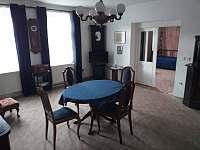 obývací pokoj - apartmán ubytování Velhartice