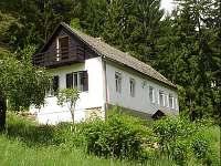 Chalupa ubytování v obci Kaplice-nádraží