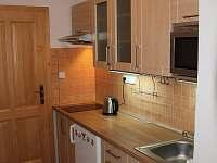 Malý apartmán - kuchyň
