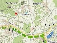 Mapa - Jaroškov