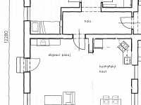 Velký apartmán - půdorys