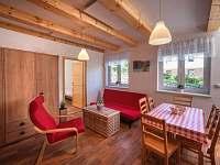 Dolní apartmán - chata k pronajmutí Horní Vltavice