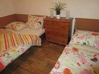 Ložnice - dolní apartmán - chata k pronájmu Horní Vltavice