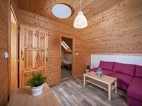 Obývací pokoj - horní apartmán -