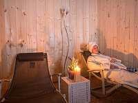 Relaxační zóna - chata k pronajmutí Horní Vltavice