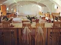 svatba v maštali - ubytování Mokrosuky - Lešišov