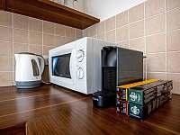 Kávovar - apartmán k pronajmutí Lipno nad Vltavou
