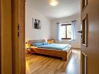 Ložnice - pronájem apartmánu Lipno nad Vltavou