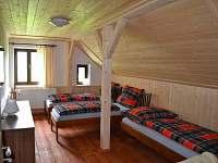 Apartmán 2 - ložnice 2/2 - pronájem chalupy Stögrova Huť