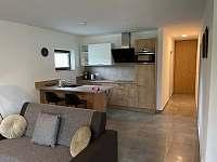 Kuchyň - pronájem apartmánu Nová Pec