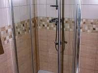 Koupelna - apartmán ubytování Dlouhá Ves