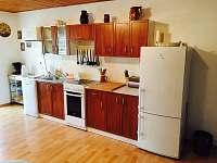 Kuchyň - apartmán k pronajmutí Dlouhá Ves