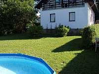 ubytování s bazéném na Šumavě