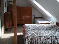 2. ložnice - pronájem chaty Dolní Jílovice