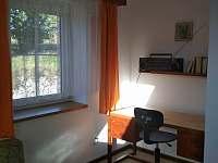 klidné místo v 2. ložnici - chata k pronajmutí Dolní Jílovice