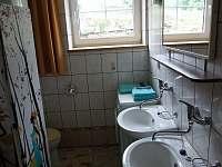koupelna - chata k pronajmutí Dolní Jílovice