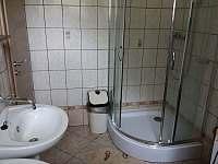 koupelna - chata ubytování Dolní Jílovice