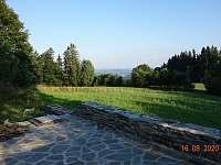 pohled na Malé Lipno - chata k pronájmu Dolní Jílovice