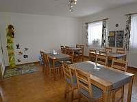 Společenská místnost - ubytování Železná Ruda