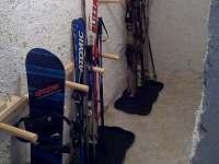 Přízemí lyžárna