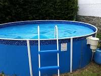 Bazén - chalupa k pronájmu Frymburk u Strakonic