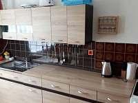Kuchyně - pronájem chalupy Frymburk u Strakonic