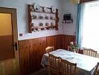 Kuchyně - chalupa k pronájmu Frymburk u Strakonic