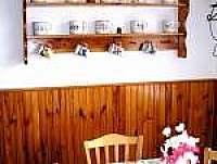 Kuchyně - chalupa ubytování Frymburk u Strakonic
