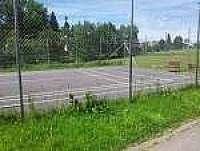 Tenisový kurt v obci - Frymburk u Strakonic