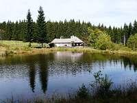 pohled od rybníka
