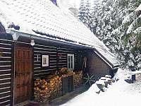Chata vchod - ubytování Vchynice - Tetov