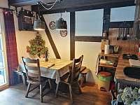 Společenská místnost - chata ubytování Vchynice - Tetov