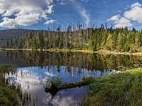 Plešné jezero 7 km od chalupy - Želnava