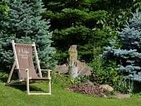 Zahrada - chalupa k pronajmutí Chlumany