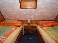 Ložnice 1 - pronájem chaty Lipno nad Vltavou - Kobylnice