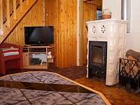 Obývací pokoj - chata k pronajmutí Lipno nad Vltavou - Kobylnice