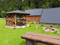 Altánek pro posezení - ubytování Nové Hutě