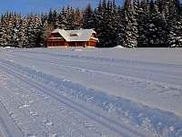 Pohled z běžkařské stopy - Nové Hutě
