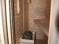 Koupelna přízemí sauna