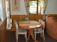 jídelní kout - pronájem chalupy Pohorsko
