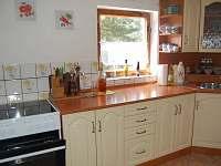 kuchyně - chalupa k pronajmutí Pohorsko