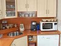 kuchyně - chalupa ubytování Pohorsko