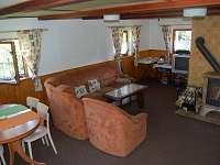obývací pokoj - chalupa ubytování Pohorsko