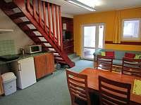 Apartmán č.1 obývák - pronájem Lipno nad Vltavou