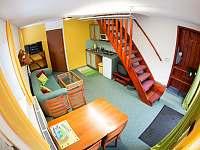 Apartmán č.1 obývák - k pronajmutí Lipno nad Vltavou