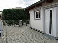 Apartmán č.1 terasa - k pronájmu Lipno nad Vltavou