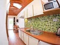 Apartmán č.2 kuchyň - pronájem Lipno nad Vltavou